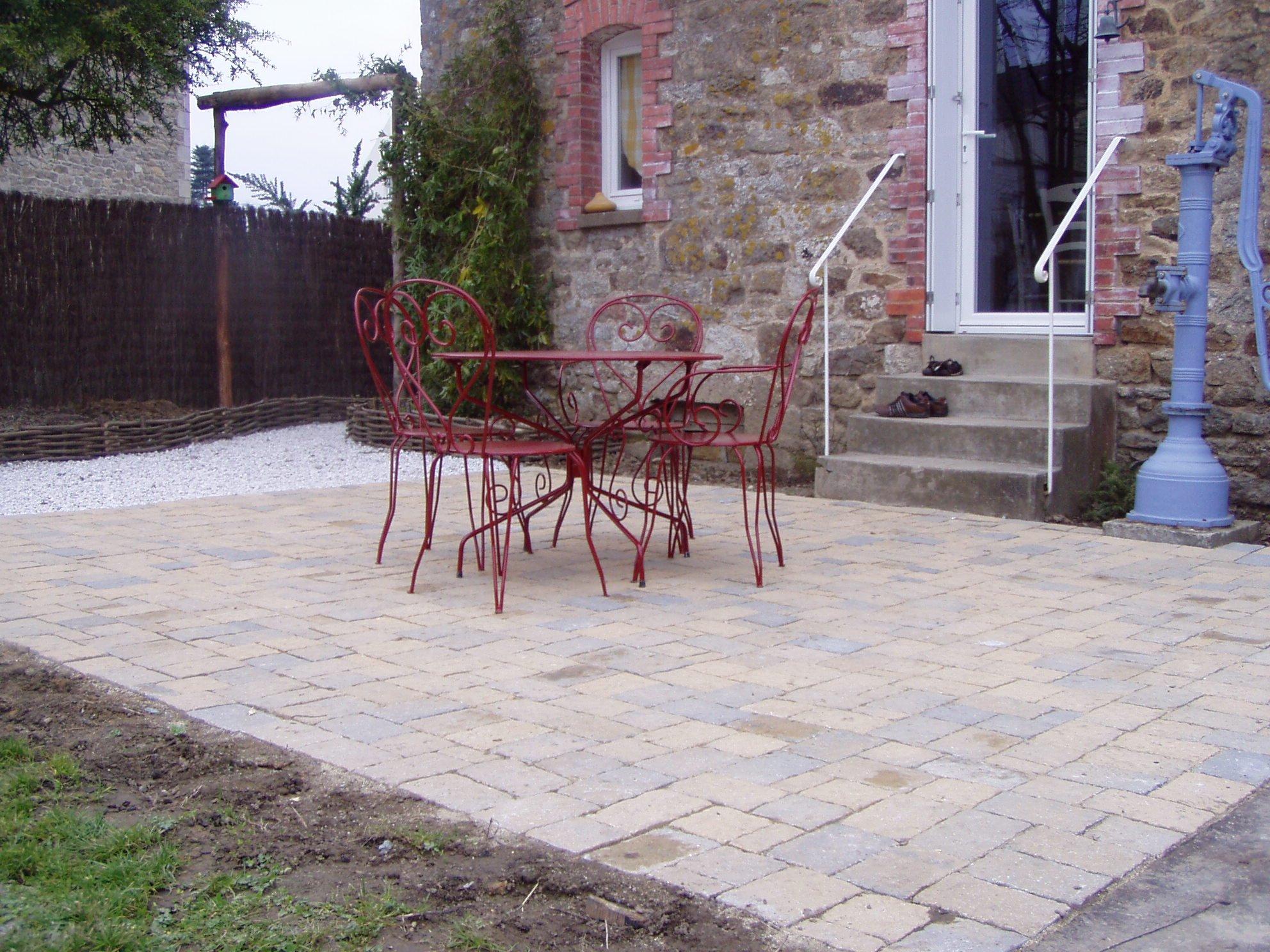 2009 novembre une vie au jardin - Pave pour terrasse ...